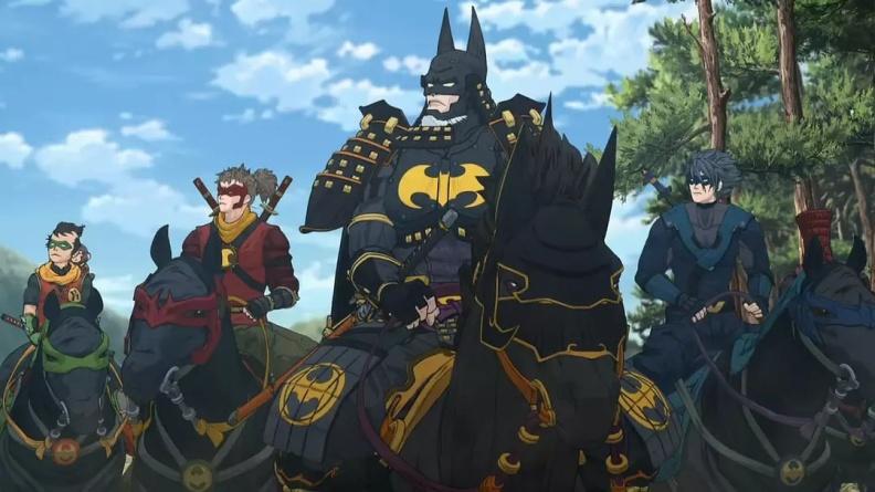 Review Batman Ninja 2018 The Dark Knight Meets The Power Rangers Circle Of Cinema